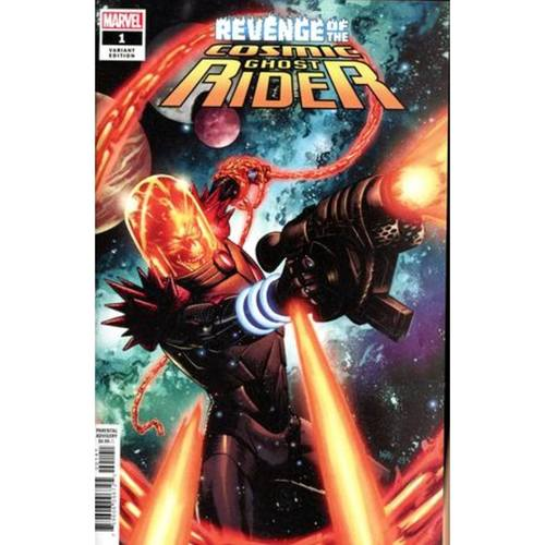 REVENGE OF COSMIC GHOST RIDER 1 OF 5 GORHAM VAR