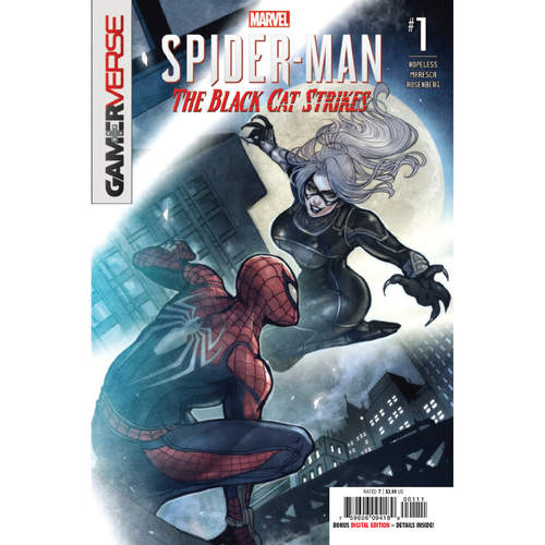 MARVELS SPIDER-MAN BLACK CAT STRIKES 1 OF 5