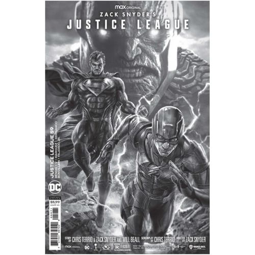 Justice League #59 Lee Bermejo Black & White Snyder Cut Variant