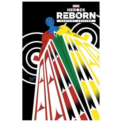 Heroes Reborn #4 1:50 Veregge Variant