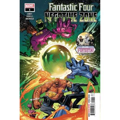FANTASTIC FOUR NEGATIVE ZONE 1