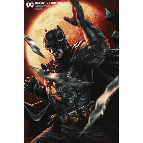 DETECTIVE COMICS 1021 CARD STOCK LEE BERMEJO VAR ED