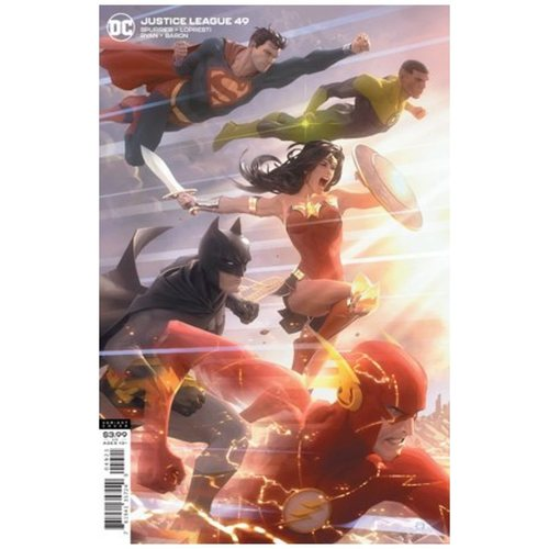 JUSTICE LEAGUE #49 CVR B ALEX GARNER VAR