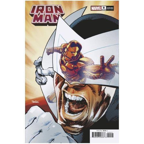 IRON MAN #9 PANOSIAN SPIDER-MAN VILLAINS VAR