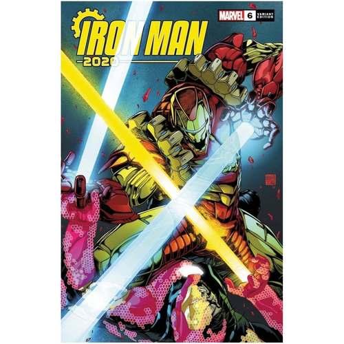 IRON MAN 2020 #6 1:25 VARIANT