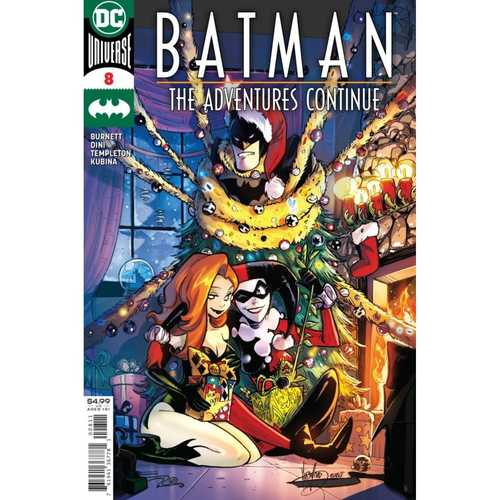 BATMAN THE ADVENTURES CONTINUE #8 (OF 8) CVR A MIRKA ANDOLFO