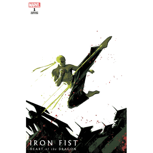IRON FIST HEART OF DRAGON #1 (OF 6) AJA VAR