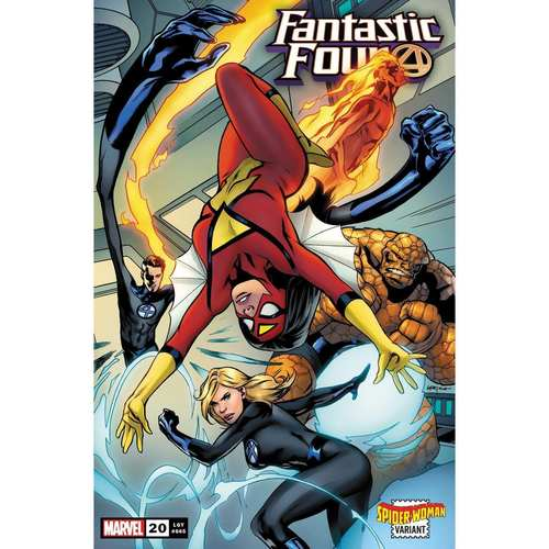 FANTASTIC FOUR 20 LUPACCHINO SPIDER-WOMAN VAR