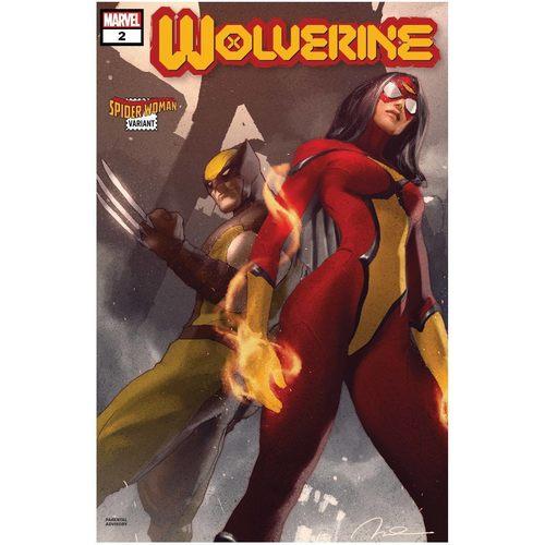 WOLVERINE 2 PAREL SPIDER-WOMAN VAR DX