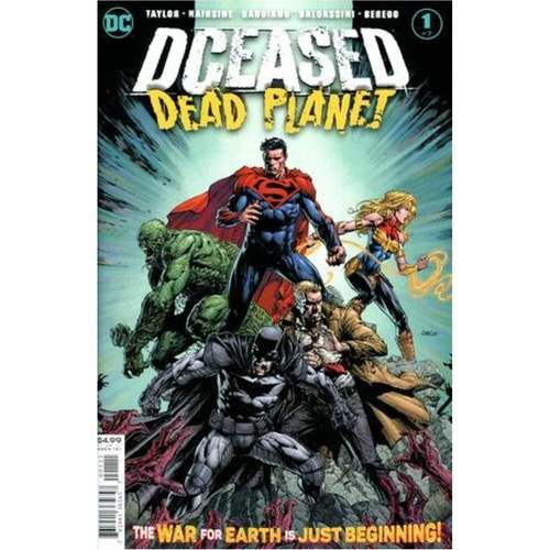 DCEASED DEAD PLANET #1 (OF 6) CVR A DAVID FINCH