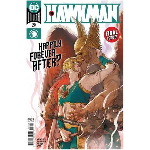 HAWKMAN 29 CVR A MIKEL JANIN