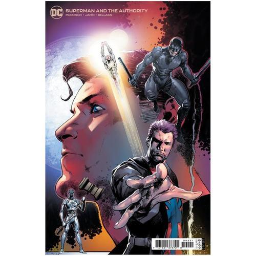 SUPERMAN AND THE AUTHORITY #2 (OF 4) CVR B TREVOR HAIRSINE VAR