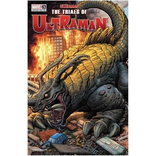 Ultraman The Trials of Ultraman 3 125 Art Adams Kaiju Variant