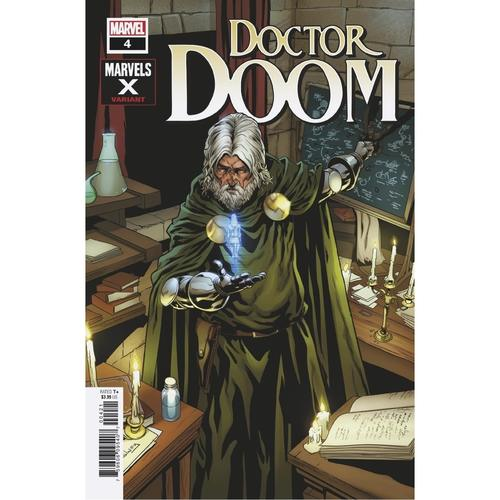 DOCTOR DOOM 4 SLINEY MARVELS X VAR