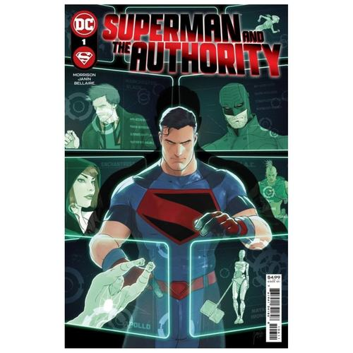 SUPERMAN AND THE AUTHORITY #1 (OF 4) CVR A MIKEL JANIN