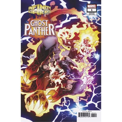 Infinity Warps: Ghost Panther #1 Kubert Connecting Variant