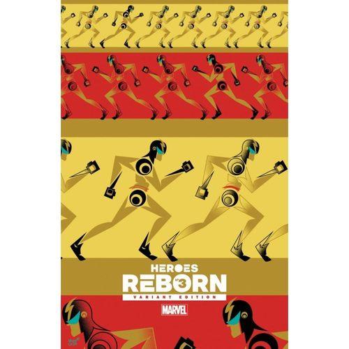 Heroes Reborn #3 1:50 Veregge Variant