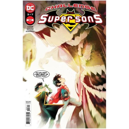 CHALLENGE OF THE SUPER SONS #3 (OF 7) CVR A SIMONE DI MEO