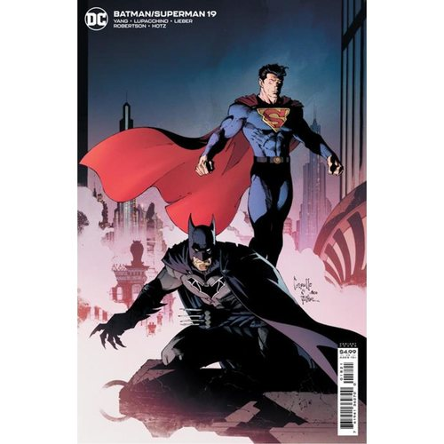 BATMAN SUPERMAN #19 CVR B GREG CAPULLO CARD STOCK VAR