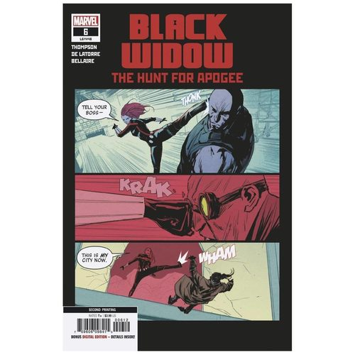BLACK WIDOW #6 2ND PTG DE LATORRE VAR