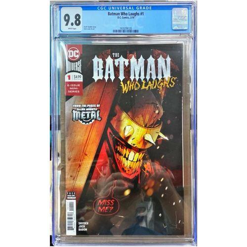 BATMAN WHO LAUGHS #1 CGC 9.8