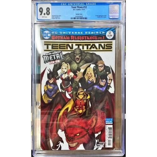TEEN TITANS #12 VARIANT CGC 9.8