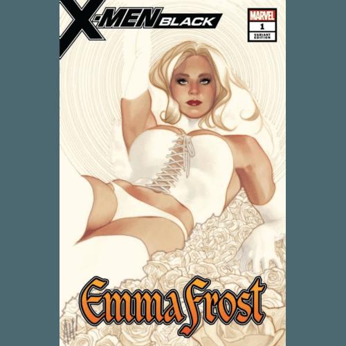 X-MEN BLACK EMMA FROST #1 ADAM HUGHES EXCLUSIVE VARIANT