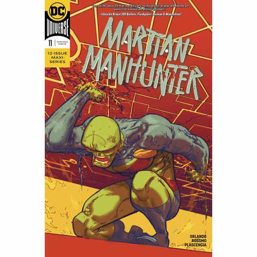 MARTIAN MANHUNTER 11 OF 12
