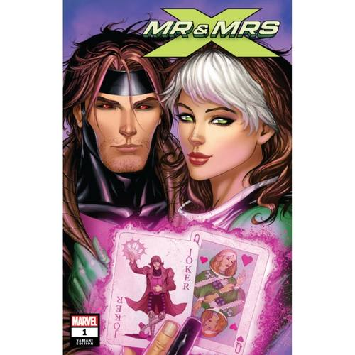 MR AND MRS X 1 UNKNOWN COMIC BOOKS KIRKHAM COVER