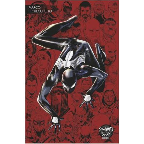 SYMBIOTE SPIDER-MAN ALIEN REALITY 1 OF 5 CHECCHETTO YOUNG