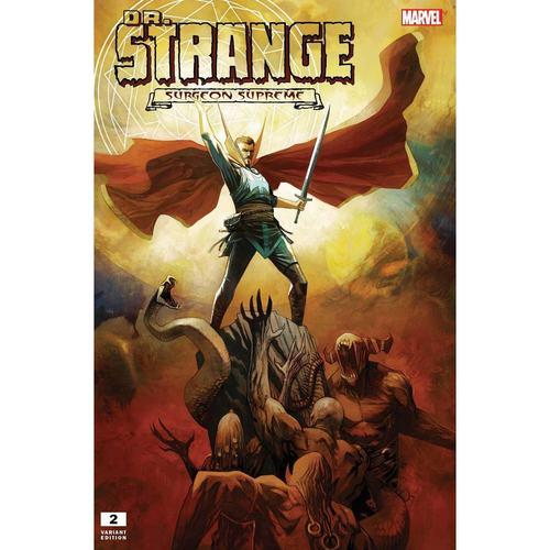DR. STRANGE: SURGEON SUPREME #2 - HUDDLESTON VAR