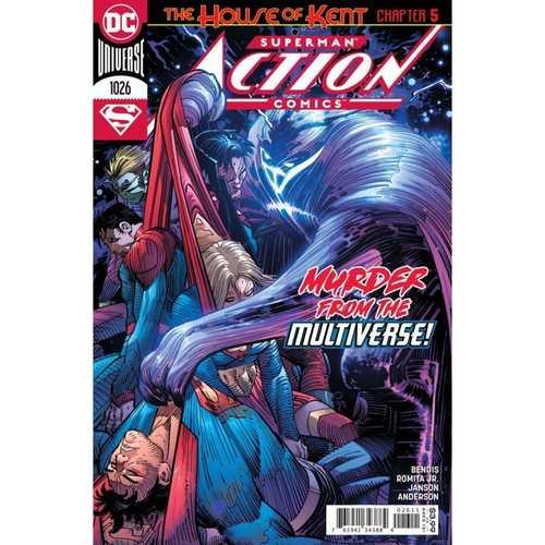 ACTION COMICS #1026 CVR A JOHN ROMITA JR & KLAUS JANSON