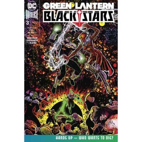 GREEN LANTERN BLACKSTARS 3 OF 3