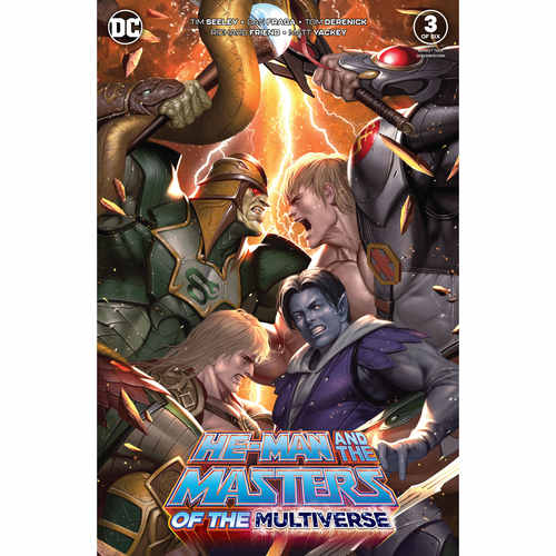 HE MAN AND THE MASTERS OF THE MULTIVERSE 3 OF 6