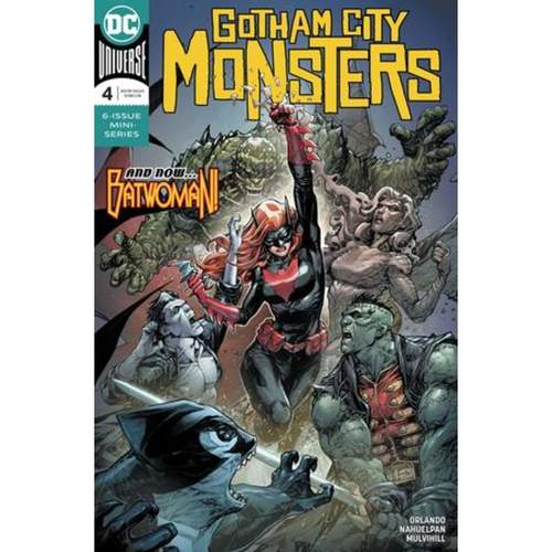 GOTHAM CITY MONSTERS 4 OF 6