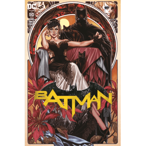 BATMAN 50 MARK BROOK EXCLUSIVE CVR Signed