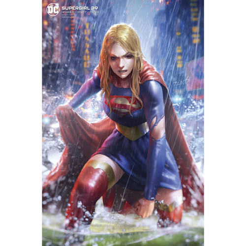 SUPERGIRL 39 CARD STOCK DERRICK CHEW VAR ED
