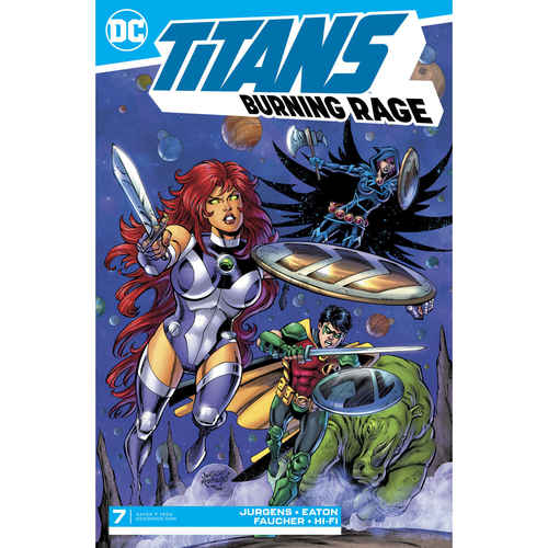 TITANS BURNING RAGE 7 OF 7