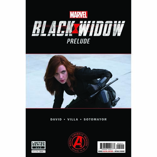 MARVELS BLACK WIDOW PRELUDE 2 OF 2