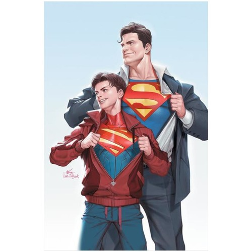 SUPERMAN #32 CVR B INHYUK LEE CARD STOCK VAR