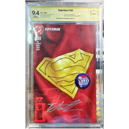 SUPERMAN #164 CBCS 9.4 YELLOW LABEL