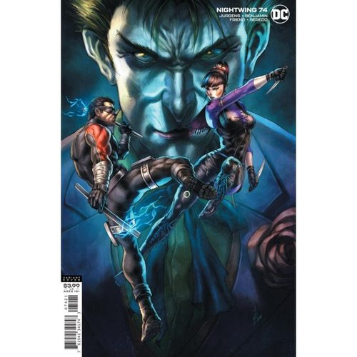 NIGHTWING #74 CVR B ALAN QUAH VAR (JOKER WAR)