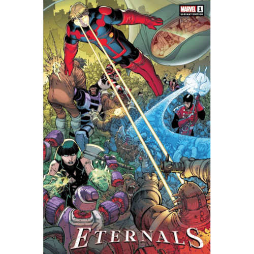 ETERNALS #1 JRJR HIDDEN GEM VAR