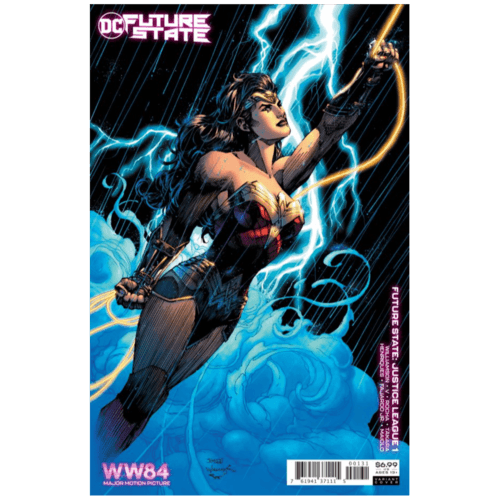 FUTURE STATE JUSTICE LEAGUE #1 (OF 2) CVR C WONDER WOMAN 1984 JIM LEE CARD STOCK VAR