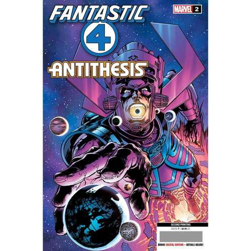 FANTASTIC FOUR ANTITHESIS #2 (OF 4) 2ND PTG NEAL ADAMS VAR