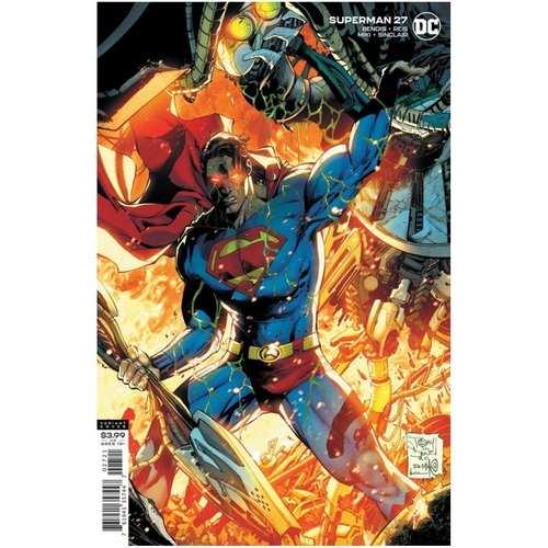 SUPERMAN #27 CVR B TONY S DANIEL & DANNY MIKI VAR