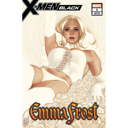 X-MEN BLACK EMMA FROST 1 ADAM HUGHES EXCLUSIVE VARIANT SIGNED