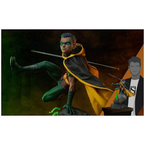 SIDESHOW COLLECTIBLES - Robin Premium Format Figure PO DUE 17 FEB