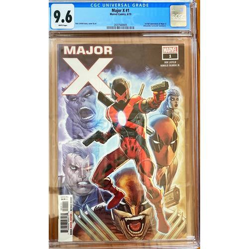 MAJOR X #1 CGC 9.6