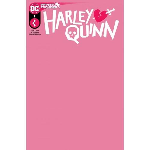 HARLEY QUINN #1 CVR C BLANK CARD STOCK VAR